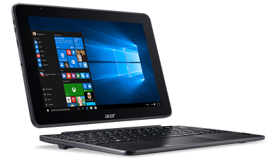 "Tablet računalo ACER One 10 S1003-108Z NT.LCQEX.001, dock tipkovnica, 10.1"" IPS multitouch, QuadCore Atom x5 Z8350, 2GB RAM, 64GB eMMC, WiFi, BT, kamera, Windows 10"