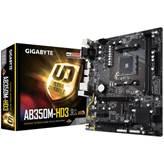 Matična ploča GIGABYTE GA-AB350M-HD3, AMD B350, DDR4, zvuk, G-LAN, SATA, M.2, PCI-E 3.0, CrossFireX, DVI, HDMI, USB 3.0, mATX, s. AM4