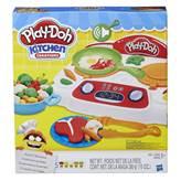 Masa za modeliranje HASBRO B9014, Play-Doh, Sizzlin' Stovetop, zagrijani štednjak