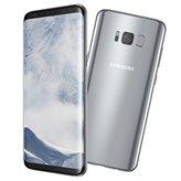 """Smartphone SAMGUNG Galaxy S8 G950F, 5.8"""" AMOLED, OctaCore Exynos 8895 2.3GHz & 1.7GHz, 4GB RAM, 64GB Flash, BT, 4G, A-GPS, Android 7.0, srebrni"""