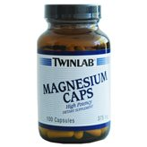 Magnesium 375mg 100 caps TWINLAB