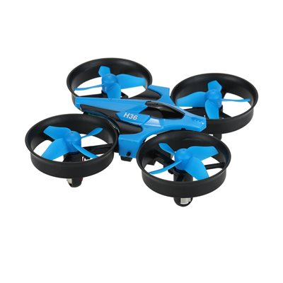 Drone JJRC H36, 6-axis, upravljanje 2.4GHz daljinskim upravljačem, plavi