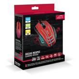 Miš SPEED-LINK Decus, Gaming, optički, 5000dpi, crveni