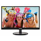 "Monitor 21.5"" LED PHILIPS 226V6QSB6, AH-IPS, FHD, 8ms, 250cd/m2, FHD, 10.000.000:1, D-SUB, DVI, crni - razred energetske učinkovitosti B"