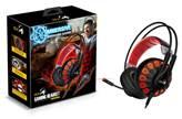 Slušalice GENIUS HS-G680, Gaming, 7.1 Virtual, LED, crne