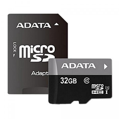 Memorijska kartica ADATA, micro SD, 32 GB, AUSDH32GUICL10-RA1, class 10 UHS + adapter