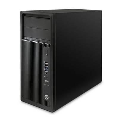 Radna stanica HP Z240 - J9C18EA, Intel Xeon E3-1245v5, 8GB DDR4-2133 ECC, Intel HD GFX P530, 256GB SSD, DVDRW, miš, tipkovnica