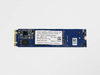 Intel Optane SSD Client 16GB, MEMPEK1W016GAXT, M.2, PCIe 3.0, 3D Xpoint, maks. do 900/145 MB/s