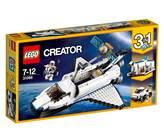 LEGO 31066, Creator, Space Shuttle Explorer, istraživač u svemirskom brodu, 3u1