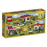 LEGO 31067, Creator, Modular Poolside Holiday, modularna vikendica s bazenom, 3u1