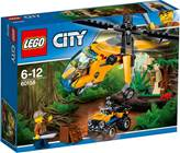LEGO 60158, City, Jungle Cargo Helicopter, teretni helikopter za prašumu
