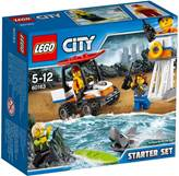 LEGO 60163, City, Coast Guard Starter Set, obalna straža, početnički set