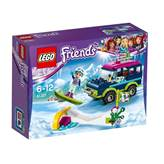 LEGO 41321, Friends, Snow Resort Off-Roader, terenac na skijalištu