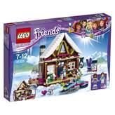 LEGO 41323, Friends, Snow Resort Chalet, koliba na skijalištu