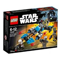 LEGO 75167, Star Wars, Bounty Hunter Speeder Bike Battle Pack, motor lovca na glave