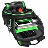 """Ruksak za prijenosno računalo PORT, gejmerski ruksak, 17.3"""", crni"""