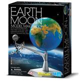 Kreativni set 4M, Kidz Labs, Earth Moon, model Zemlja i Mjesec