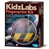 Kreativni set 4M, Kidz Labs, Fingerprint Kit, set za otkrivanje otisaka prstiju