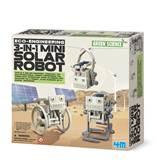 Kreativni set 4M, Kidz Labs, Mini Solar Robot, mali solarni robot, 3u1
