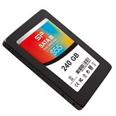 """SSD 240.0 GB SILICON POWER S55, SP240GBSS3S55S25, SATA3, 2.5"""", do 530/500 MB/s"""