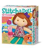 Kreativni set 4M, Easy To Make, Stich A Doll and Pet Bunny, lutka sa zečićem