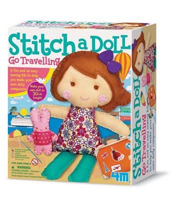 Kreativni set 4M, Easy To Make, Stich A Doll and Pet Bunny, lutka sa zečićem
