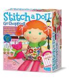 Kreativni set 4M, Easy To Make, Stich A Doll and Pet Kitty, lutka sa macom