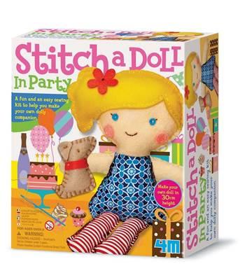 Kreativni set 4M, Easy To Make, Stich A Doll and Pet Puppy, lutka sa psićem