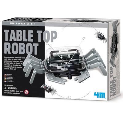Kreativni set 4M, Fun Mechanics Kit, Table Top Robot, stolni robot