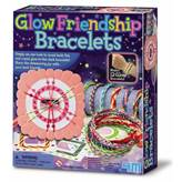 Kreativni set 4M, Glow Friendship Bracelets, set za izradu svjetlećih narukvica prijateljstva