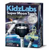 Kreativni set 4M, Kidz Labs, Super Moon Torch, svjetiljka s motivom mjeseca