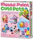 Kreativni set 4M, Mould And Paint, Cute Pets, set za izradu magneta, kućni ljubimci