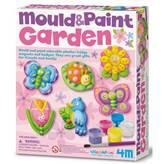Kreativni set 4M, Mould And Paint, Garden, set za izradu magneta, vrt