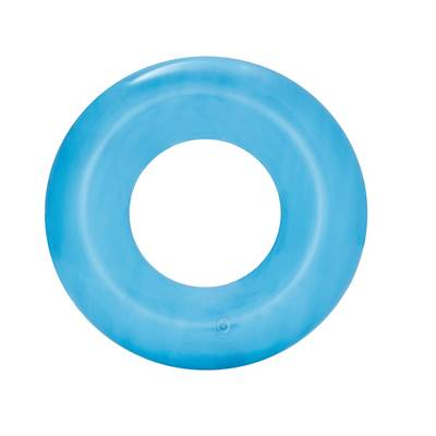 Kolut za plivanje BESTWAY, Transparent Tire Tube, 51cm, plavi