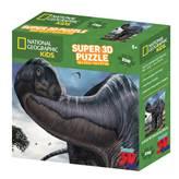 Slagalica NATIONAL GEOGRAPHIC, Super 3D Kids Puzzle, Argentinosaur, 150 komada