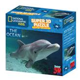 Slagalica NATIONAL GEOGRAPHIC, Super 3D Kids Puzzle, Dupin, 48 komada