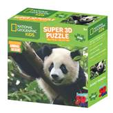 Slagalica NATIONAL GEOGRAPHIC, Super 3D Kids Puzzle, Panda, 150 komada