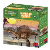 Slagalica NATIONAL GEOGRAPHIC, Super 3D Kids Puzzle, Spinosaur, 150 komada