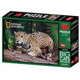Slagalica NATIONAL GEOGRAPHIC, Super 3D Puzzle, Jaguar, 500 komada