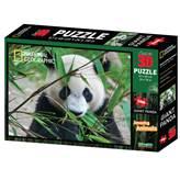 Slagalica NATIONAL GEOGRAPHIC, Super 3D Puzzle, Panda, 500 komada