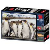 Slagalica NATIONAL GEOGRAPHIC, Super 3D Puzzle, Pingvini, 500 komada