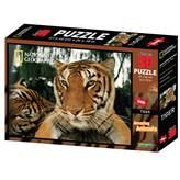 Slagalica NATIONAL GEOGRAPHIC, Super 3D Puzzle, Tigar, 500 komada