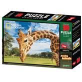 Slagalica NATIONAL GEOGRAPHIC, Super 3D Puzzle, Žirafa, 500 komada