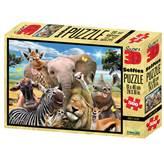 Slagalica NATIONAL GEOGRAPHIC, Super 3D Selfie Puzzle, Afrika, 500 komada