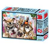 Slagalica NATIONAL GEOGRAPHIC, Super 3D Selfie Puzzle, Kućni ljubimci, 500 komada