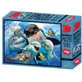 Slagalica NATIONAL GEOGRAPHIC, Super 3D Selfie Puzzle, Ocean, 500 komada