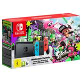 Igraća konzola NINTENDO Switch, Red & Blue Joy-Con + Splatoon 2 digital game