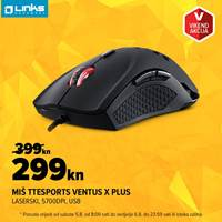Picture of Vikend akcija - Miš Tt eSports Ventus X Plus (5.-6.8.)