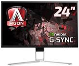 "Monitor 24"" LED AOC AG241QG, 1ms, DP, USB, HDMI, crveno/crni"