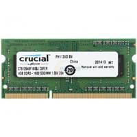 Memorija SO-DIMM PC-12800, 4 GB, CRUCIAL CT51264BF160BJ, DDR3, 1600MHz